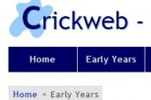 Crickweb - Early Years