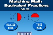 Matching Equivilant Fractions