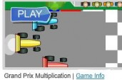 Multi-Player Multiplication Grand Prix