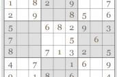 NEW! My Puzzle - Sudoku