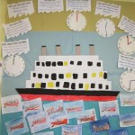 The Titanic time line (Small)