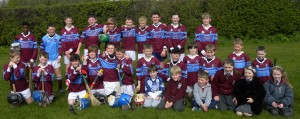 Senior team which beat Dundrum in semi