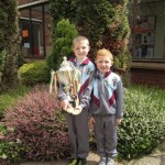 Evan &amp; Shane competed in the National Karate Championships last week. Well Done !